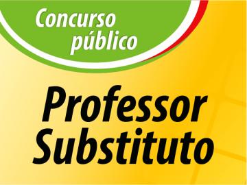 Edital nº 30/2017 - Processo Seletivo para Professor Substituto